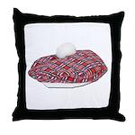 Plaid Beret Throw Pillow