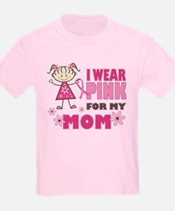 Wear Pink 4 Mom T-Shirt