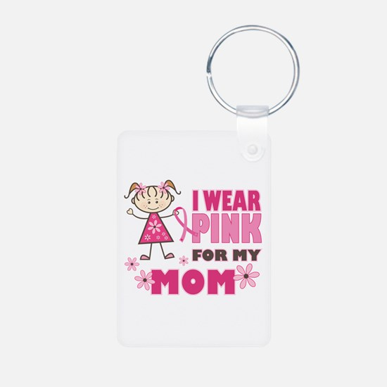 Wear Pink 4 Mom Keychains