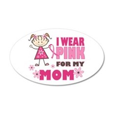 Wear Pink 4 Mom Wall Decal
