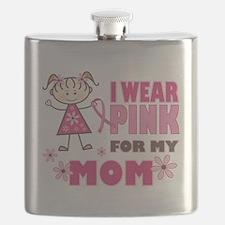Wear Pink 4 Mom Flask
