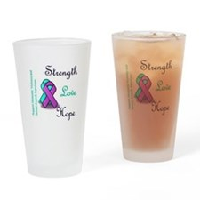 Strength Love Hope Drinking Glass