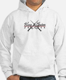 Blay and Qhuinn Forever Light Hoodie