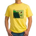 Kayaking Adventure Yellow T-Shirt