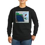 Kayaking Adventure Long Sleeve Dark T-Shirt