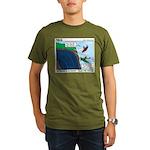 Kayaking Adventure Organic Men's T-Shirt (dark)