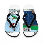 Kayaking Adventure Flip Flops