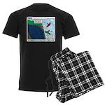 Kayaking Adventure Men's Dark Pajamas