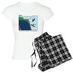 Kayaking Adventure Women's Light Pajamas