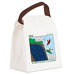 Kayaking Adventure Canvas Lunch Bag