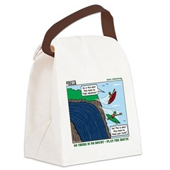 Kayaking Adventure Canvas Lunch Bag