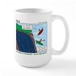 Kayaking Adventure Large Mug