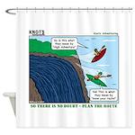 Kayaking Adventure Shower Curtain