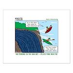 Kayaking Adventure Small Poster