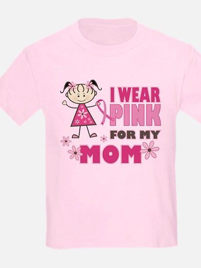 Wear Pink 4 Mom T-Shirt