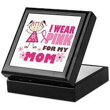 Wear Pink 4 Mom Keepsake Box