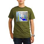 Ordering of the Arrow Organic Men's T-Shirt (dark)
