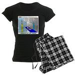 Ordering of the Arrow Women's Dark Pajamas