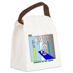 Ordering of the Arrow Canvas Lunch Bag