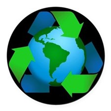Recycle Car Magnet / Earth Magnet