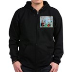 Surveying Zip Hoodie (dark)
