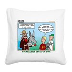 Surveying Square Canvas Pillow