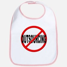 Anti / No Outsourcing Bib