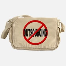 Anti / No Outsourcing Messenger Bag