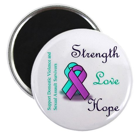 Stop Domestic Violence and Sexual Assault Magnet