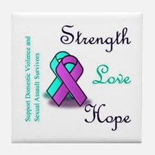 Stop Domestic Violence and Sexual Assault Tile Coa