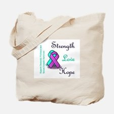Stop Domestic Violence and Sexual Assault Tote Bag
