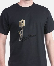 Engagement on Ladder to Window T-Shirt