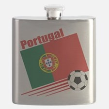 Portugal Soccer Team Flask
