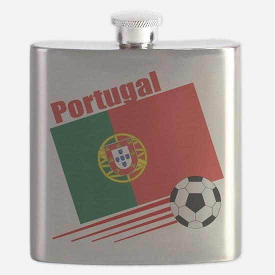 Portugal Soccer Team Flask