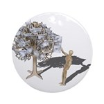 Taking Money from Money Tree Ornament (Round)