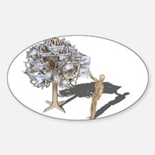 Taking Money from Money Tree Decal