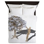 Taking Money from Money Tree Queen Duvet