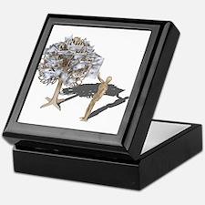 Taking Money from Money Tree Keepsake Box