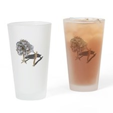 Taking Money from Money Tree Drinking Glass