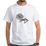 Taking Money from Money Tree White T-Shirt