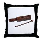 RythmStick070112.png Throw Pillow