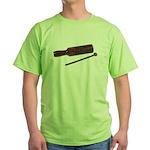 RythmStick070112.png Green T-Shirt