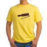 RythmStick070112.png Yellow T-Shirt