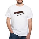RythmStick070112.png White T-Shirt