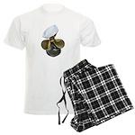 Sailor Hat and Propeller Men's Light Pajamas