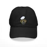 Sailor Hat and Propeller Black Cap