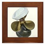 Sailor Hat and Propeller Framed Tile