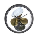 Sailor Hat and Propeller Wall Clock