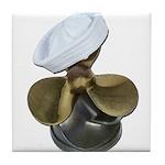 Sailor Hat and Propeller Tile Coaster