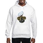 Sailor Hat and Propeller Hooded Sweatshirt